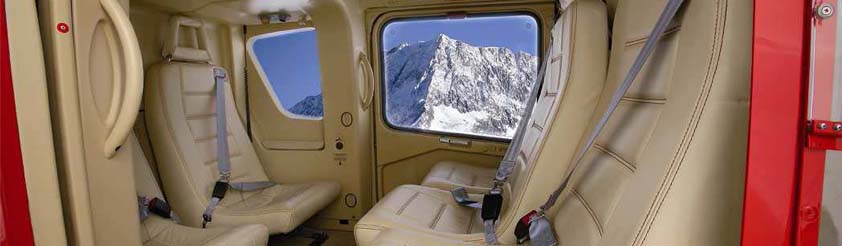 Helicopter Interiors - Comfort and Prestige VIP - Picture: Eurocopter EC135 Interior