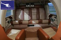 Eurocopter AS365 Dauphin Passenger Hold / Passenger Cabin