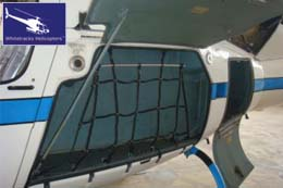 Eurocopter AS350 - Side Luggage Compartment / Luggage Hold and Rear Luggage Hold / Luggage Compartment