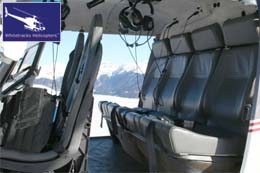 Eurocopter AS350 Passenger Hold / Passenger Cabin