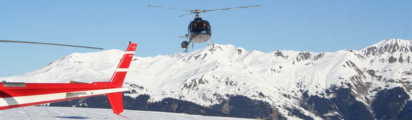 Les Saisies Helicopters - Helicopter Transfers, Airport Transfers, Sightseeing and Tourist helicopter flights and Tours